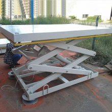 平遥仓库载货货梯 2吨3吨剪叉式升降货梯 电动液压升降台 AG8游戏平台厂家提供原厂配件