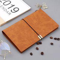 创意A6小笔记本旅行本复古随身记事本手账本多功能日记本定制LOGO