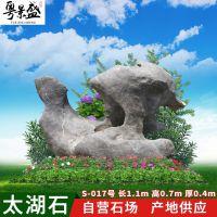 粤景盛英德天然太湖石厂家供应 园艺奇石公园石 大型太湖石哪家好
