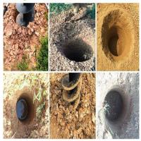 苗木种植打眼机/手提式汽油挖坑机/9马力汽油挖坑机价格