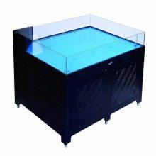 长沙酒店海鲜池制作/长沙超市海鲜池设计/长沙餐厅海鲜池定做/选择景玥水族