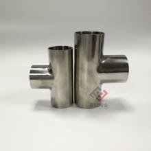 304光面三通 不锈钢卫生级三通102管