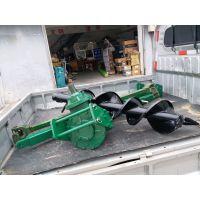 农业栽种工程螺旋式挖坑机 路面施工安装电线杆挖坑机