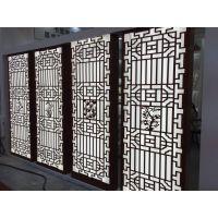 售楼中心大堂屏风镂空雕花鋁單板 鋁板雕花屏風廠家