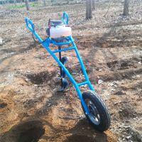 亚博国际真实吗机械 螺旋植树挖坑机 手提汽油植树挖坑机 多功能植树挖坑机 合金钻头打桩挖洞机