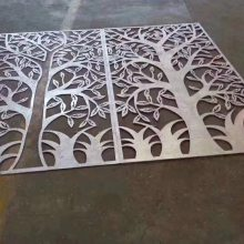 德普龙屏风镂空铝板_造型门头镂空铝板厂家生产