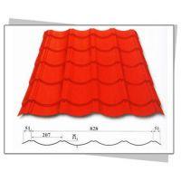 建筑琉璃瓦系列YX28-207-828型 彩钢屋面瓦_上海新之杰压型钢板厂