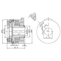 DLYD-5A,定位定位牙嵌式电磁离合器