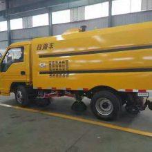 湖北扫路车厂家销售:福田国五5方扫路车--扫路车厂家-扫路车价格
