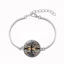 跨境热销复古生命之树时光宝石手链时尚女士首饰手环饰品欧美手串