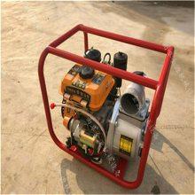小型汽油抽水泵 -卧式小型汽油抽水泵批发康顺机械