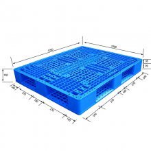 厂家直销 1008九脚网轻托盘 堆码行业塑料托盘 托盘天平