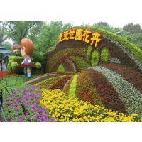 成都真植物雕塑出售 鑫森蕴造型哦 佛甲草五色草造型哦 质量好