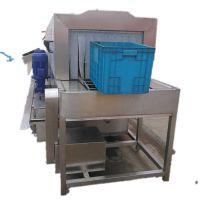 康汇塑料托盘清洗机 广州地台板风干线 高压喷淋托盘清洗设备