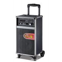 单8寸广场舞音响户外音响木制音箱有源音箱电瓶音箱