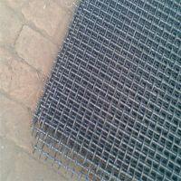 矿筛轧花网 洗煤厂筛网 扁铁丝轧花网