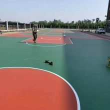 专业塑胶篮球场施工报价就找山东鑫威体育