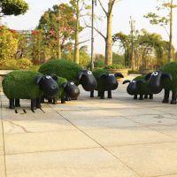 成都仿真植物绿雕,假草坪海豚海狮花坛假植物雕塑