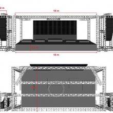 桁架搭建租赁-上海桁架搭建-鹏观演艺设备