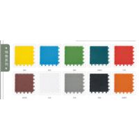 贵阳优质彩色塑料悬浮式拼装运动防水地板 幼儿园设施厂家直销