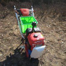 批发销售汽油手扶播种机 小型链轨式施肥除草机 多用途农田种植精播机
