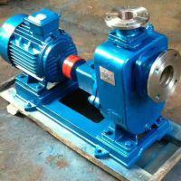 卧式自吸泵价格ZWL100-100-15-7.5KW排污泵 型号