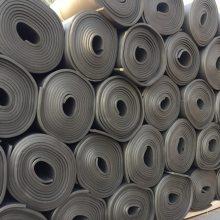 阻燃橡塑海绵保温板 b1级橡塑板贴压花铝箔 高密度橡塑隔热板