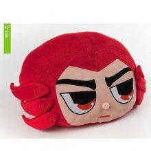 宏源玩具 卡通人偶服装毛绒玩具抱枕毛绒抱枕如何制作