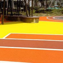 小区儿童乐园EPDM彩色塑胶地面施工 幼儿园塑胶地面,塑胶地板铺装