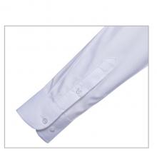 贵州男衬衣定制,行政衬衫定做批发,贵阳夏装订做,GY5065白色60%棉平纹立领长袖男衬衣