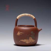 观泉 山间访客 紫砂壶 茶具 茶壶 紫砂茶壶