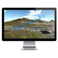 煤矿井下采空区稳定性监测系统