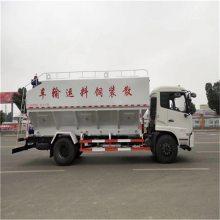 畜牧场饲料加工厂专用10吨上料下料配送罐车可安要求进行分仓效率高有现车