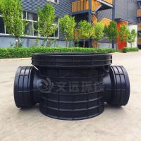 塑料排水检查井建材_给排水PE管材管件生产厂家