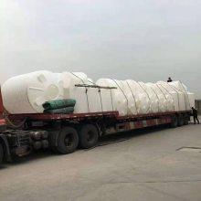 20立方立式圆柱储罐 立式平底水箱20吨 桶身外凸加强可放心使用