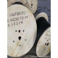 CJPF80/SC 交联聚乙烯绝缘聚烯烃护套镀锡铜丝编织低烟无卤成束阻燃船用电力电缆长峰品牌