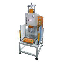 金诚单柱JCCL-5TS液压铆钉机 台式 快慢速铆合机 电机轴芯铆压机