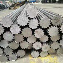 冷拔异型钢管厂家 可来图加工 20#精密外圆内花键钢管 山东聊城