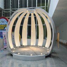贺州雕塑 售楼处前台雕塑 室内景观雕塑 恒创玻璃钢雕塑价格