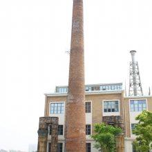宿州砖烟囱人工拆除施工