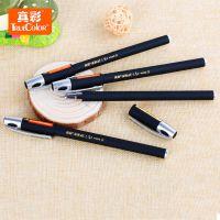 学生文具真彩状元红考试专用中性笔 0.5针管黑色水笔 签字笔V3309