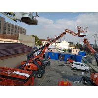 昆山周庄 54米出租桅杆升降车 用于高空粉刷