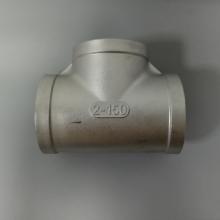销售内牙三通6分|304铸件DN20三通|丝扣螺纹连接不锈钢