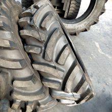 耐磨12.4-24人字形加密轮胎 公路运输用拖拉机轮胎12.4-24多少钱