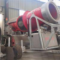 厂家供应民族人工造雪机 高效率的滑雪场制雪机