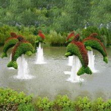 大量出售贵阳仿真植物绿雕雕塑厂家 定制仿真孔雀造型定制大型