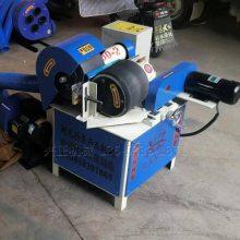 全套环保小型抛光机钢管外圆除锈机自动圆管抛光图片任邦机械
