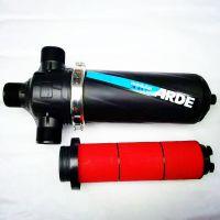 叠片过滤器稳定,自动反冲洗离心盘过滤好,节水、节能,维护费用少