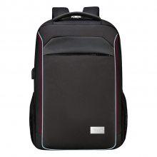 厂家直销带usb电脑背包 防盗防泼水笔记本双肩包 休闲商务包