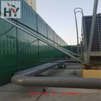河南安阳厂家供应高速公路金属声屏障、百叶形隔音板、小区隔音屏障